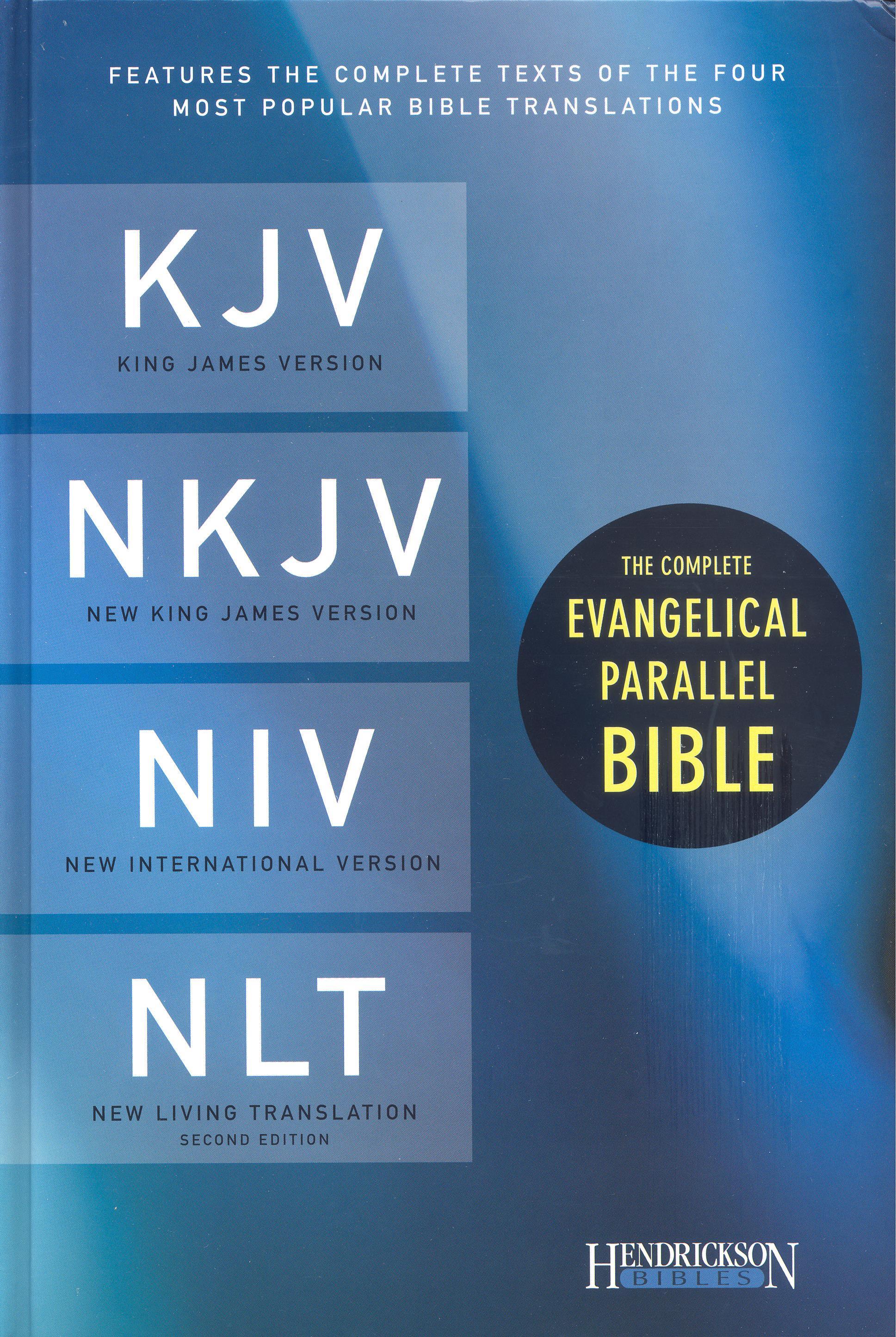 KJV, NKJV, NIV, NLT, Hendrickson – Hardcover